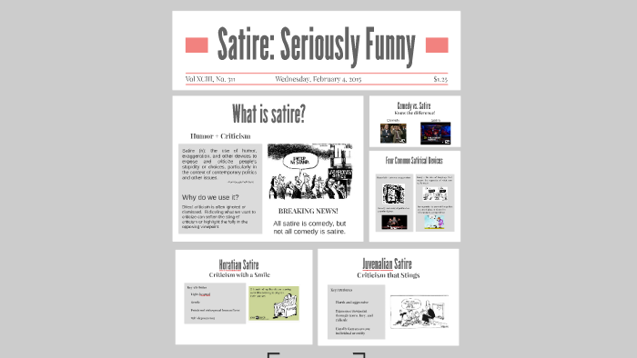 Satire Seriously Funny By Timothy Phelps On Prezi