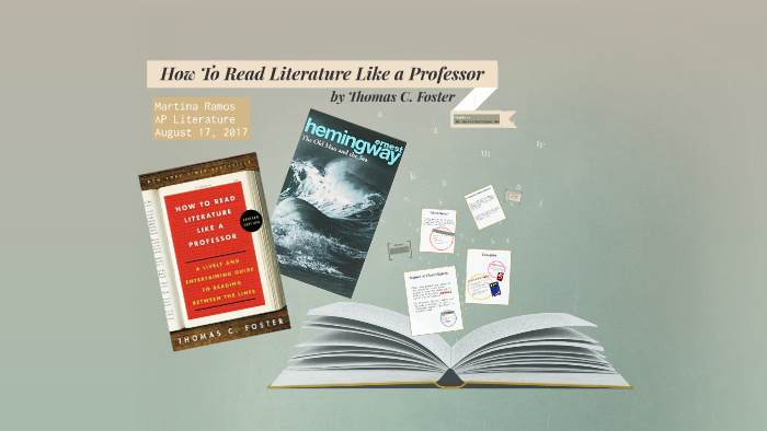 annotations for how to read literature like a professor