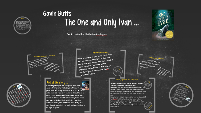 The One And Only Ivan By Gavin Butts On Prezi