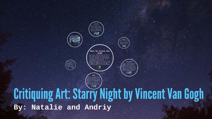 starry night critique