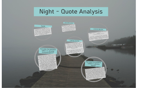 Night Quote Analysis By Olivia Kriwasch On Prezi