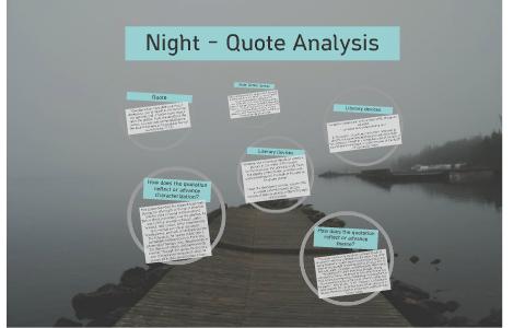 Night Quote Analysis By Olivia Kriwasch On Prezi