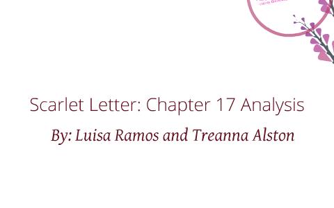scarlet letter chapter 17 analysis by treanna alston on prezi
