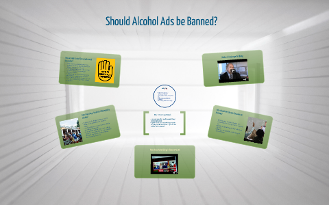 why should alcohol advertising be banned