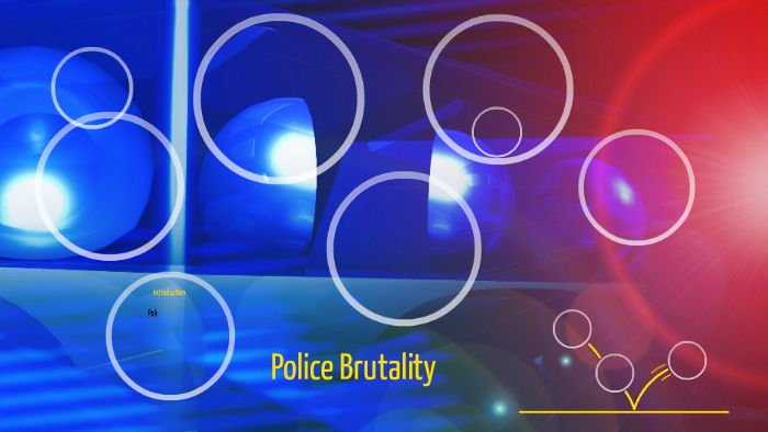 annotated bibliography on police brutality