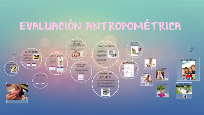 que es evaluacion antropometrica pdf