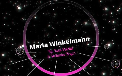 maria winkelmann