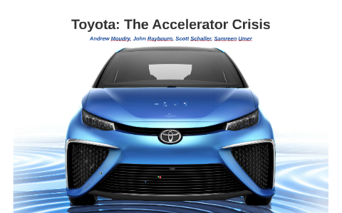 toyota crisis management case study ppt