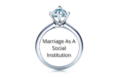 Marriage As A Social Institution by William Hall