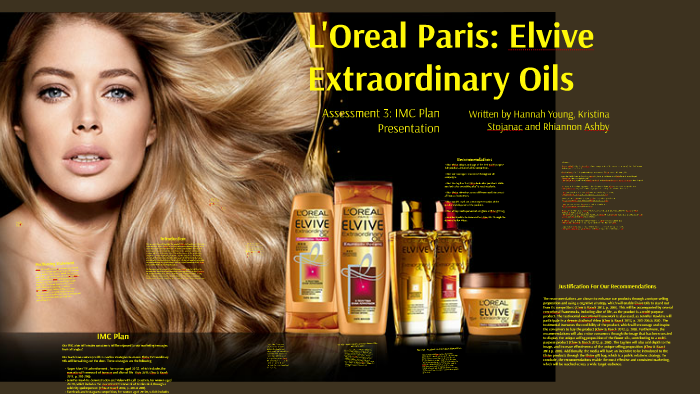L'Oreal Paris: Elvive Extraordinary Oils by Hannah Young on