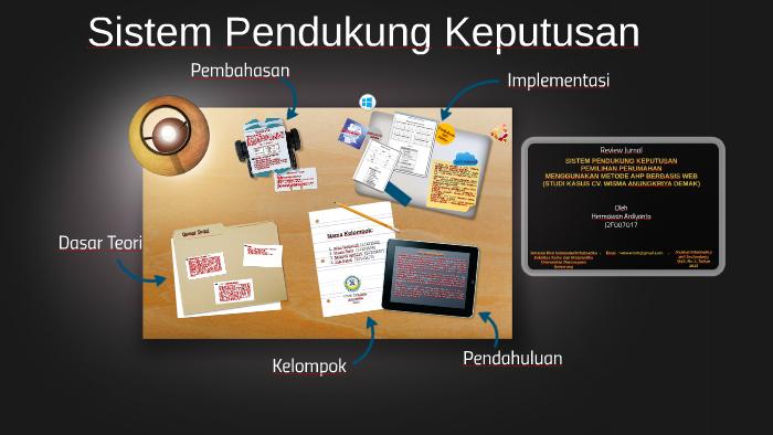 Spk metode ahp berbasis web