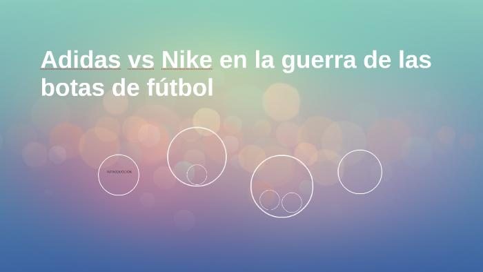 aa63c255ff689 Adidas vs Nike en la guerra de las botas de fútbol by RAFAEL QUINTERO  MURCIA on Prezi