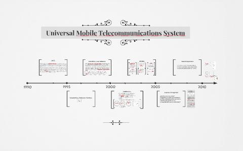 Universal Mobile Telecommunications System by rene oscar