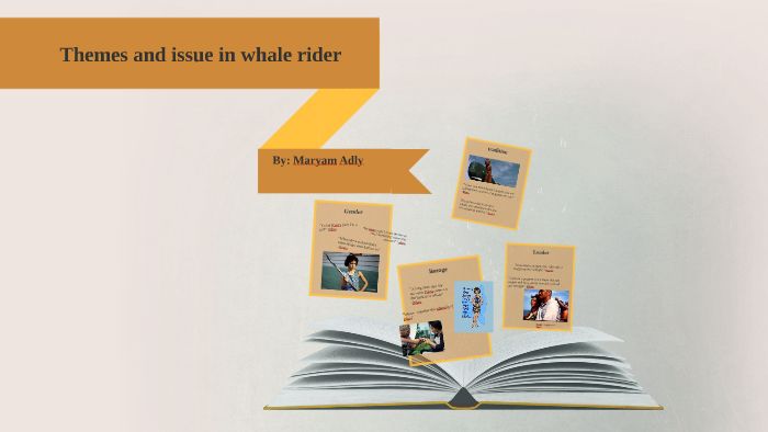 whale rider themes