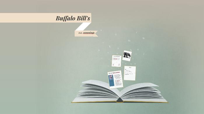 ee cummings buffalo bills defunct analysis