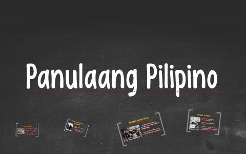 Panulaang Pilipino by Alen Clyde