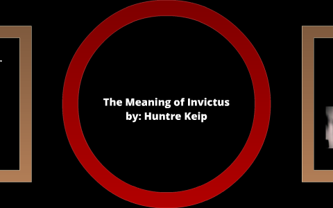 what does the poem invictus mean