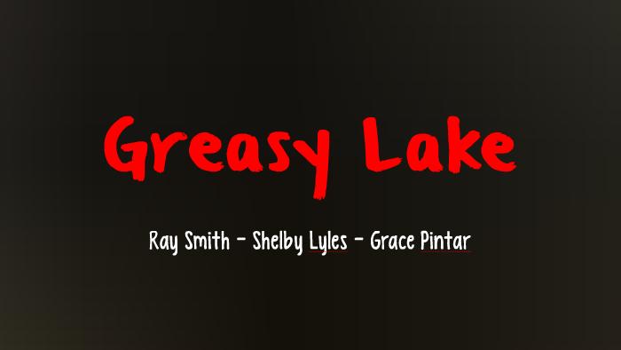 greasy lake boyle full text