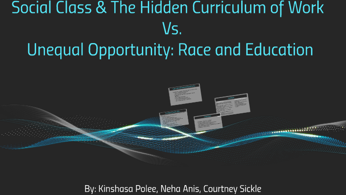from social class and the hidden curriculum of work