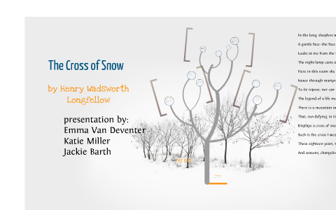 the cross of snow poem