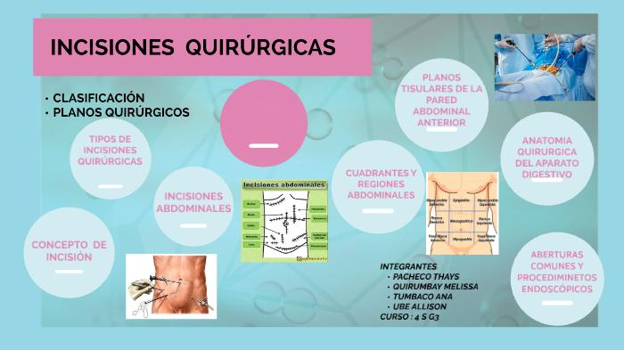 Son cirugias abdominales las cuales