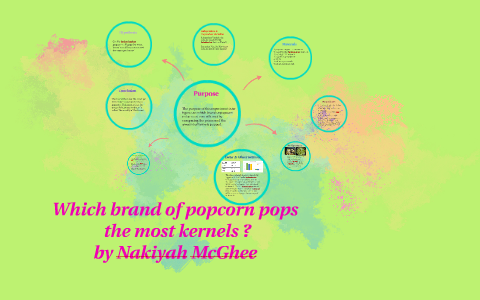 which brand of popcorn pops the most kernels science project