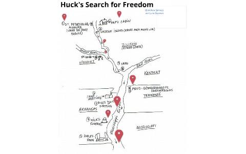 Huck Finn Map Project by Andrew Samuels on Prezi
