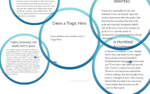 creon tragic hero