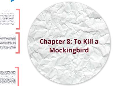 to kill a mockingbird chapter 8 summary