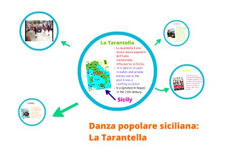 La danza popolare siciliana: La Tarantella by Lauren
