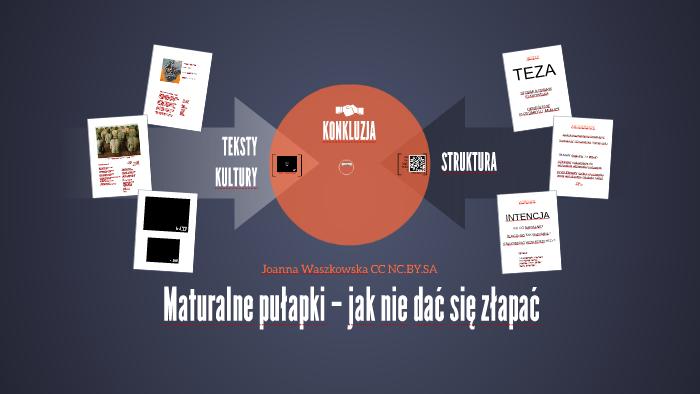 Maturalne Pułapki Pp Teksty Kultury By Joanna Waszkowska