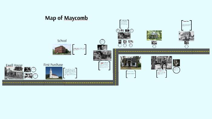 Map of Maycomb by Logan Shinski on Prezi