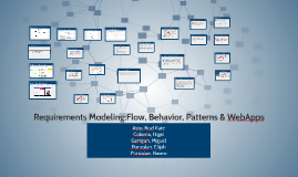 Requirements Modeling Flow Behavior Patterns Amp Webapps By Nigel Coloma