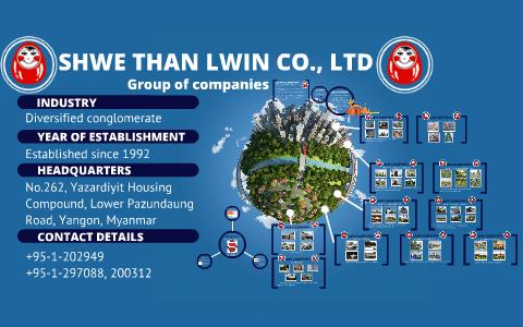 SHWE THAN LWIN CO , LTD by Evan Lin on Prezi