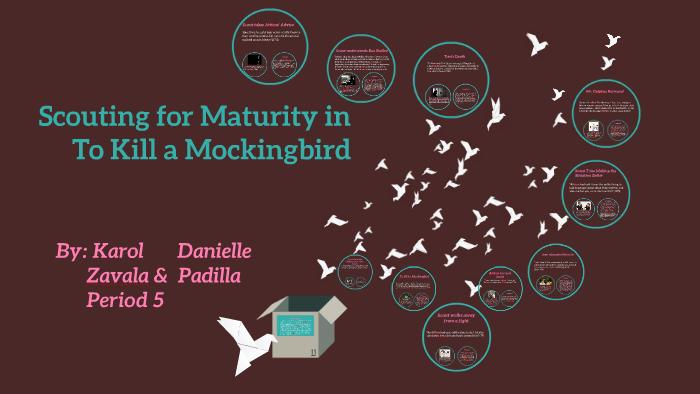 to kill a mockingbird maturity essay