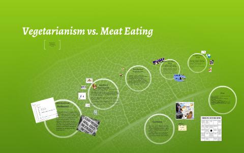 Meat eating vs vegetarian All