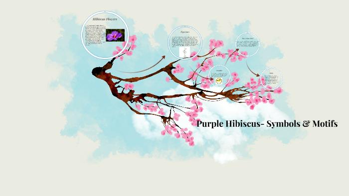 Purple Hibiscus Symbols Motifs By Hannah Reid On Prezi