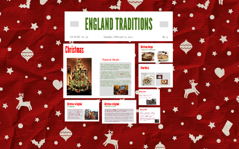 Christmas In England Traditions.England Traditions By Maria Hdez On Prezi