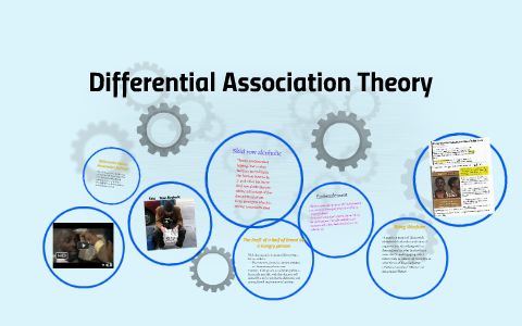 what is differential association theory
