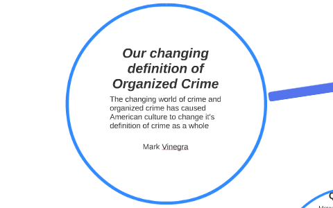 Organized Crime Definition