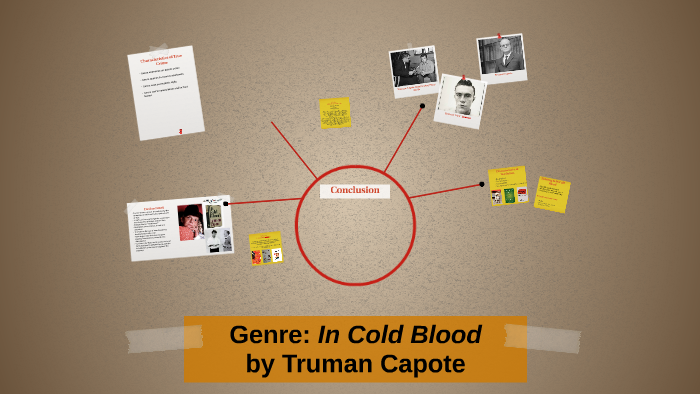 in cold blood genre