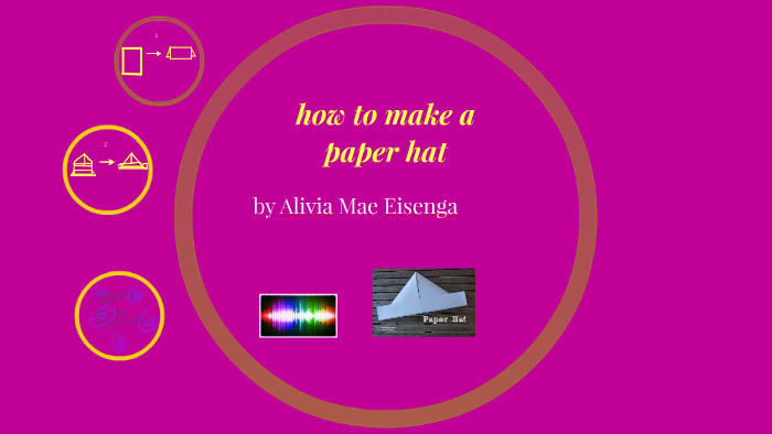 How To Make A Paper Hat By Alice Matlosz