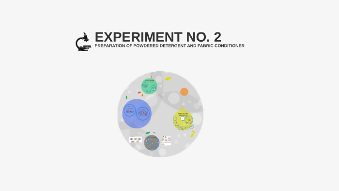 preparation of detergent experiment