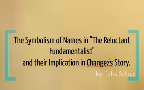 the reluctant fundamentalist symbolism