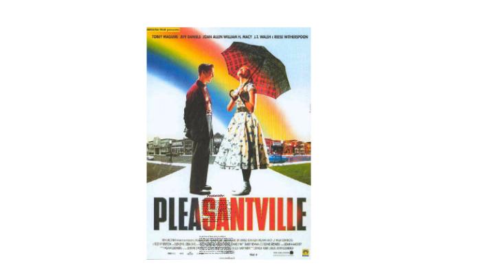 pleasantville analysis film techniques