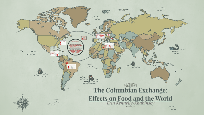 The Columbian Exchange: Effects on Food and the World by ...