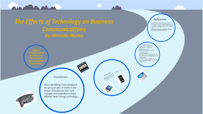 The Effects of Technology on Business Communications by