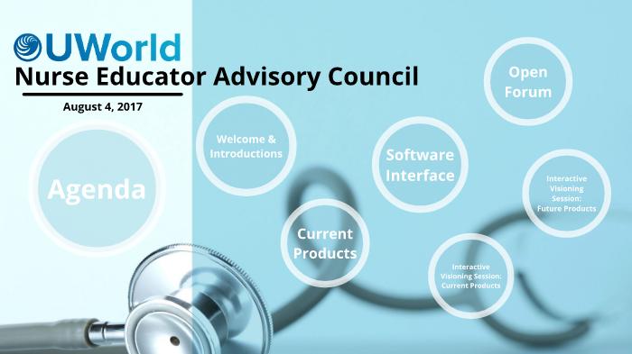 UWorld Nurse Educator Advisory Council by Shanna Ingram on