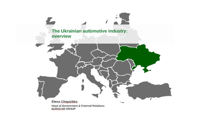 The Ukrainian automotive industry: overview by Анна