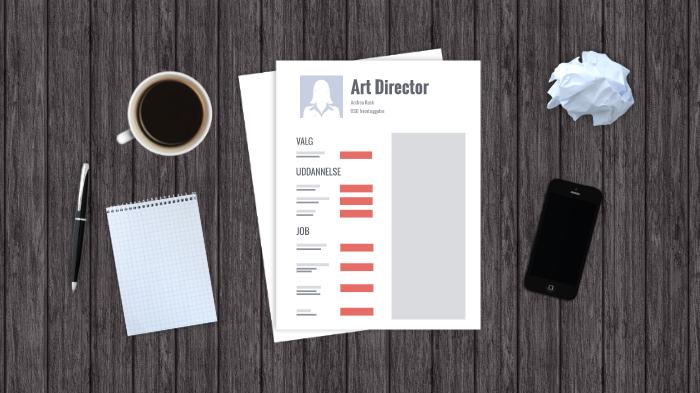 Når du skal vælge: Art Director (AD'er) - MarketingCapacity.dk